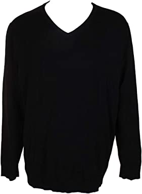 Alfani Mens Long Sleeves V-Neck Pullover Sweater