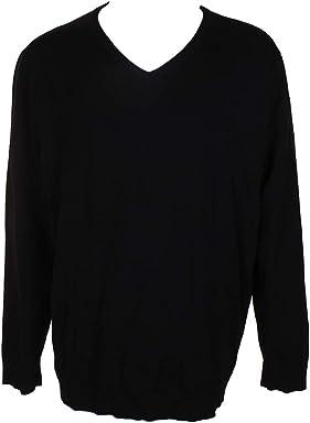 Alfani Mens Long Sleeves V-Neck Pullover Sweater