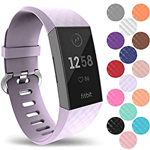 Amazon.com: Yousave Accessories Fitbit Charge 3 Bands
