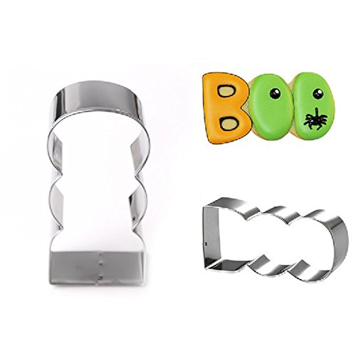3D Stainless Steel Cookies Cutter Mould Cake Decorating Cookie DIY Baking Tools-Holloween -