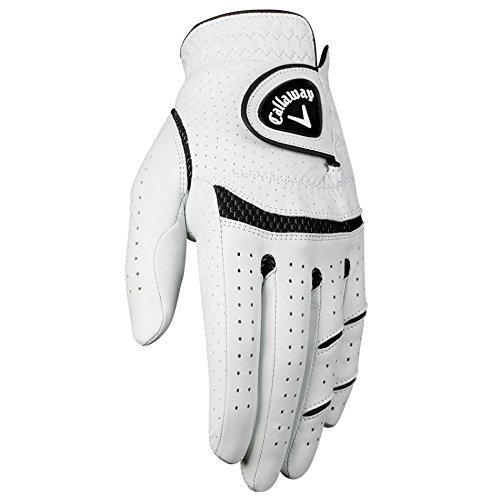 Callaway Men's Apex Tour Golf Glove, Medium/Large, Left Hand (Callaway Golf Glove)
