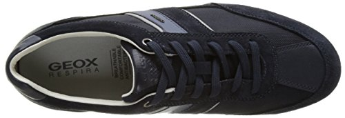 U navyc4064 uomo Blue C Geox basse Sneakers Wells da Fg16FdwUq
