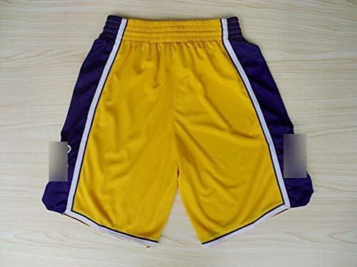 HS-WANG9 Los Angeles Lakers # 24 Kobe Bryant Shorts de Baloncesto ...