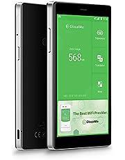 GlocalMe G4 Pro LTE 4G mobiler Hotspot mobiler WLAN MiFi mit Powerbankfunktion, mit 1 GB globalen Daten, Simkarten-frei, ohne Roaming-Gebühren, verwendbar in über 130 Ländern (Black)