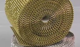 Dress My Cupcake Gold Diamond Rhinestone Ribbon Wrap BULK 30 feet - Gold Party Decorations, Wedding Hanging - Crystal Platinum Cake Stand
