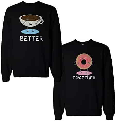 7bdd2212d5 365 In Love 365Printing Couple Cute Matching Sweatshirts Pullover Fleece  for Couples