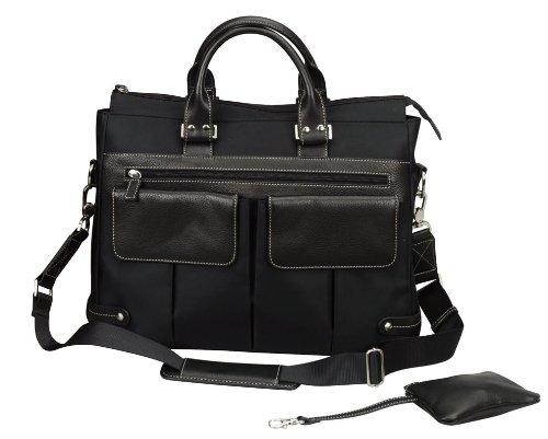 BLACK-THE EURO LADIES WORKING TOTE BAG