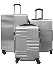 حقيبة سفر ترولي، شنطة سفر صلبة مع عجلات والقفل المزودة المطلوب لآمن المواصلات للمسافرين