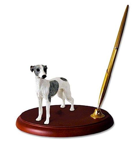 Whippet Dog Desk Set - Gray & - Dog Desk Set