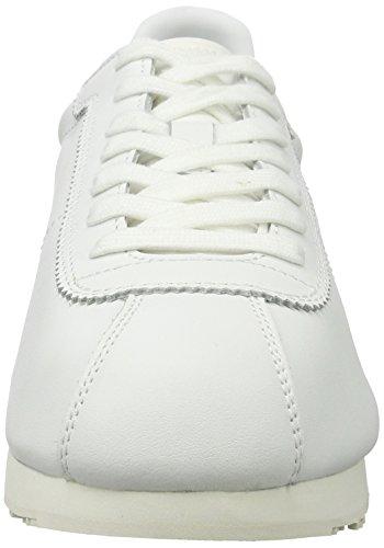 Blauer USA Bowling - Zapatillas Hombre Weiß (White/red)