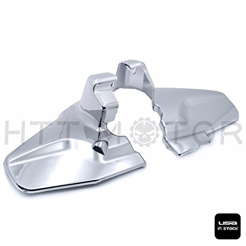 - SMT-Chrome Engine Lower Side Frame Covers Compatible With Honda Goldwing GL1800 2001-2011 02 03 [B076GZ34G8]