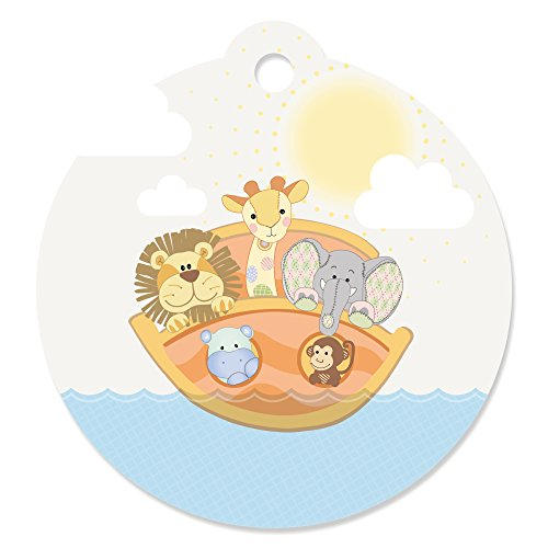 Noah's Ark - Baby Shower or Birthday Party Favor Gift Tags (Set of (Noahs Favorite Animal)