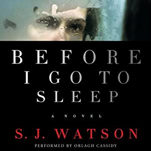 Before I Go to Sleep Audiobook