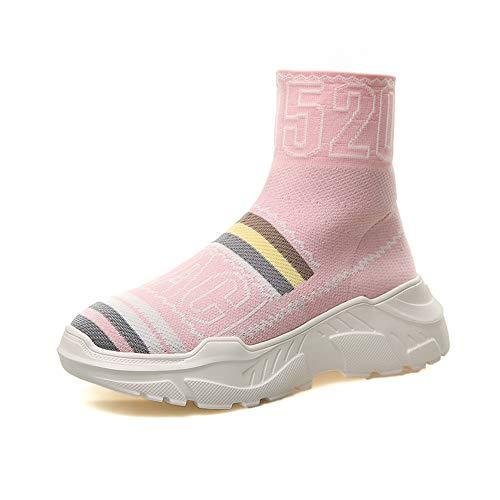 Mujer Hip Rosa De Elementos Alto Elástico Y De Zapatos Senderismo Hop XINGMU Xq1nwgxEPX