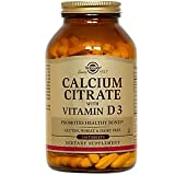 Solgar – Calcium Citrate with Vitamin D3, 240 Tablets Review