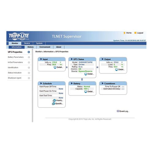 Tripp Lite SNMP/Java-free Web Management Accessory Card for Compatible Tripp Lite UPS Systems (TLNETCARD) by Tripp Lite (Image #2)