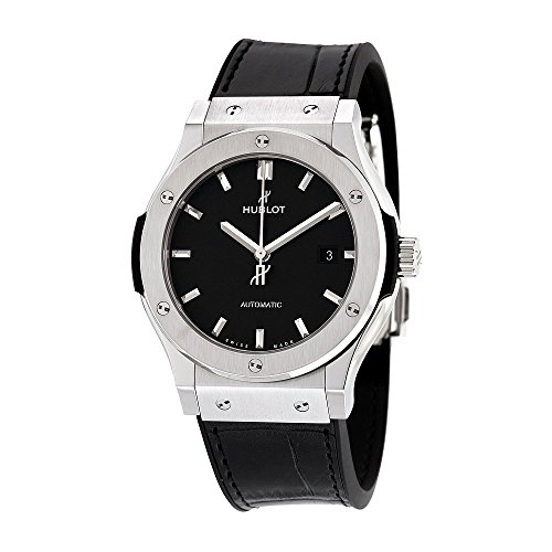 Hublot Classic Fusion Automatic Black Dial Titanium Mens Watch 542NX1171LR