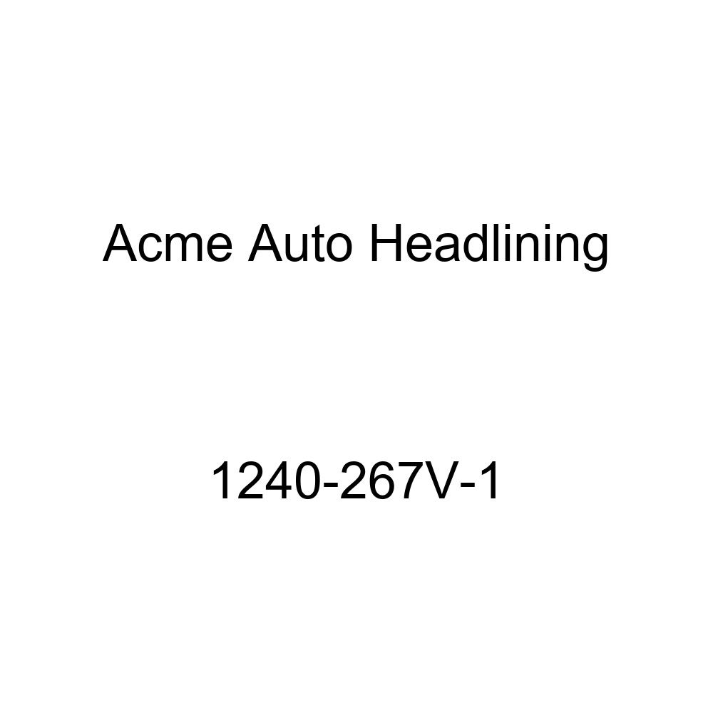 Acme Auto Headlining 1240-267V-1 Ivory Replacement Headliner 1956 Oldsmobile 88 2 Door Coupe Holiday Hardtop 7 Bows