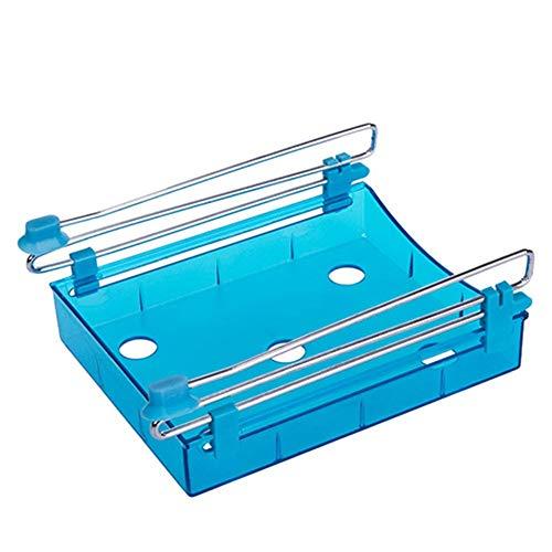 - xinhuiqiong Drawer Refrigerator Storage Box Slide Shelf Container Fresh Sort Organizer