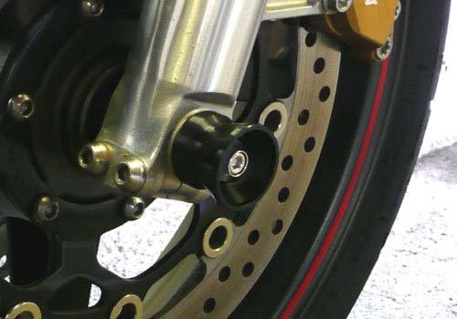 AGRAS front axle protector funnel type Silver CB1300SF [SC54] (03-09) CB1300SB [SC54] (- 09) 344-167-A0S