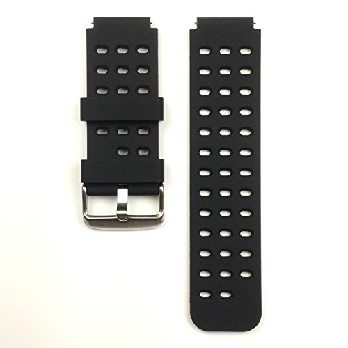 Richard Tracy Brand HAMMER Smart Watch Strap, Black by Richard Tracy Brand