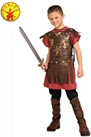 Rubie's Boys' Gladiator Child Costume, Red, Large