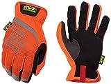 Mechanix Wear - Hi-Viz FastFit Gloves (Small, Fluorescent Orange)