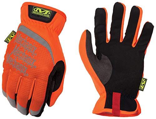 Mechanix Wear Small Hi-Viz Orange FastFit Full Fin