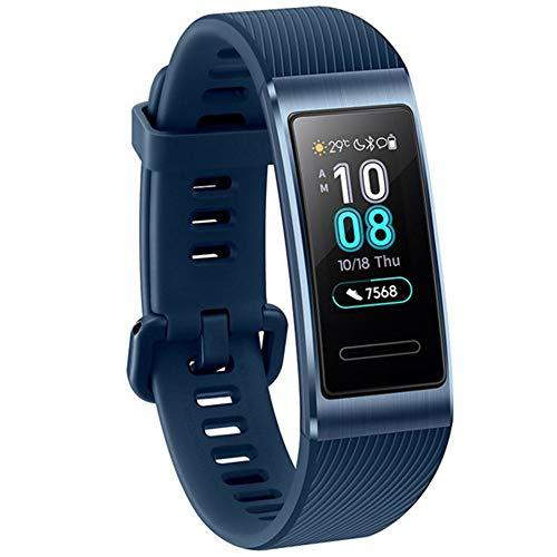 Huawei Band 3 Pro Smartwatch Fitness Uhr Schrittzähler Sport Wasserdicht Blau