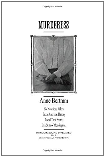 Downloadning af gratis e-bøger pdf Murderess by Anne Bertram PDF FB2 iBook 1257834843