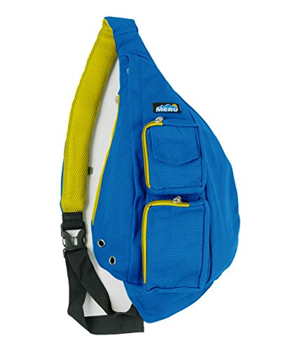NEXT GEN Sling Backpack By MERU - Cross body Sling Bag With Memory Foam Strap