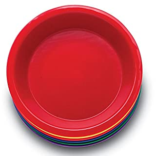 """Learning Resources Three Bear Family Sorting Bowls, Set of 6 Bowls, Assorted Colors, 6"""" in Diameter, Ages 4+"""