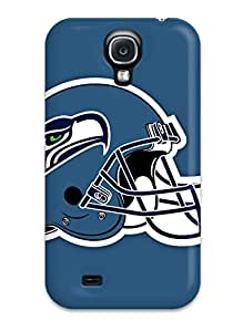High Quality Seattle Seahawks Helmet Case For Galaxy S4 / Perfect Case