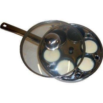 Cookpro 522 Steel 6 Egg Poacher Non Stick by Jaybrake
