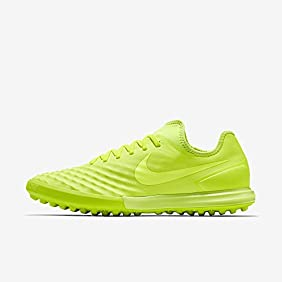 Nike Men's MagistaX Finale II TF Turf Soccer Shoe (VOLT)