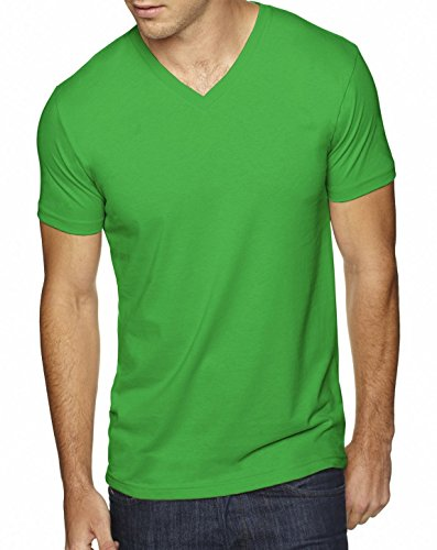 Next Level 6440 Premium Fitted Sueded V-Neck Tee Envy XX-Large
