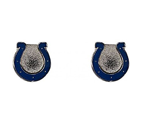 (NFL Logo Post Earrings (Indianapolis Colts))