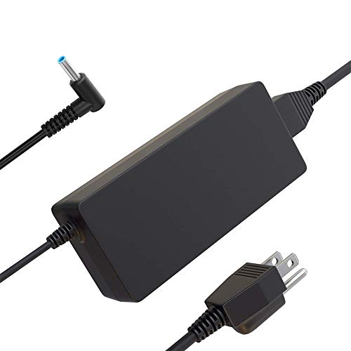 UL Listed 11ft Laptop Charger for HP Pavilion 11 14 15 17 / Envy 15 17 M6 M7 / Stream 11 13 14; Connector Size: Φ4.5Φ3.0mm (Hp Elitebook Plugged In Battery Not Charging)
