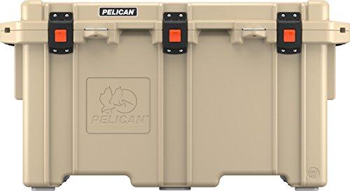 Pelican Elite 150 Quart Cooler  (Tan) (Pelican Green Tie)