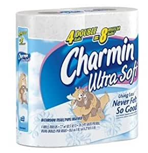 Charmin Ultra Soft TP, Double Rolls, 80 [NH#79Z144]