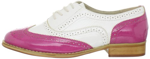 Pictures of Wanted Shoes Women's Babe Oxford Shoe black 4