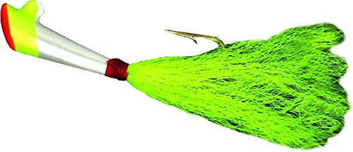 - Nungesser Shad Dart (2-Pack), 1/12-Ounce, Red/Yellow/White Body with a Yellow Tail Finish