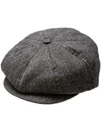 Baby Boy Ring Bearer Pageboy Scally Cap - Flat Ivy Newsboy Tweed Golf Cap Hat