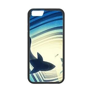 Shark Case For iPhone 6 Plus Black 6229388354954