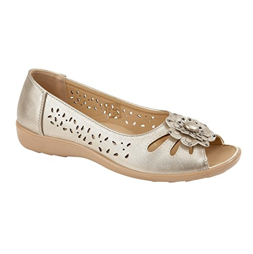 Shoe Tree Comfort - Sandalias de Vestir de Material Sintético Para Mujer plata