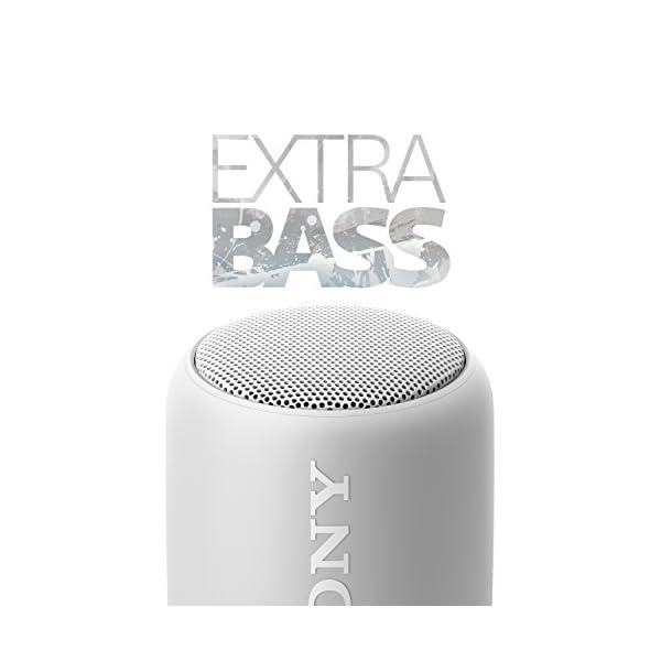 Sony SRS-XB10W Enceinte portable compacte sans fil Bluetooth NFC - Blanc 5