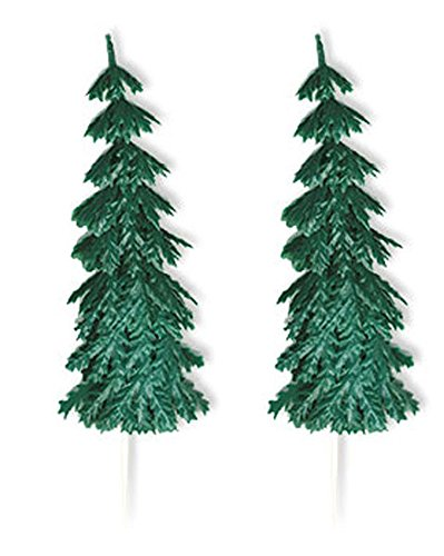 Confectionery House Large Pine Trees Pk/6
