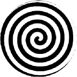"HYPNOTIC SPIRAL Hypnosis Pinback Button 1.25"" Pin / Badge"