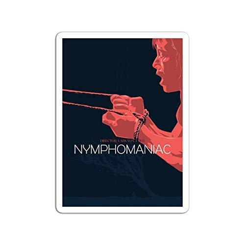 BreathNenStore Sticker Motion Picture Nymphomaniac A Selfdiagnosed Nymphomaniac Recount Movies Video Film (3