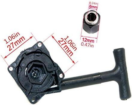 Negro Arrancador de arranque HSP R020 con rodamiento unidireccional de tuerca hexagonal R025 de 12 mm para VX 16 18 21 SH18 21 Piezas de motor de motor nitro Modelo de coche RC